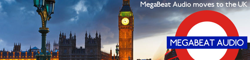 MegaBeat Audio moves to the UK